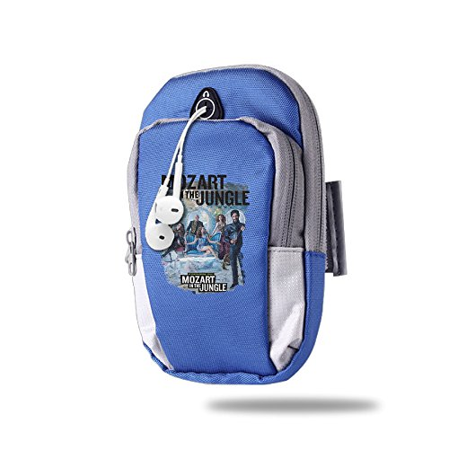 Outdoor Arm Bag Mozart In The Jungle RoyalBlue ()