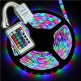 iNextStation - Tira de luces LED 5050 3528 RGB, 3528 RGB LED Strip Light