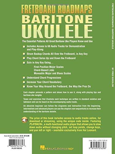 Amazon Fretboard Roadmaps Baritone Ukulele The Essential