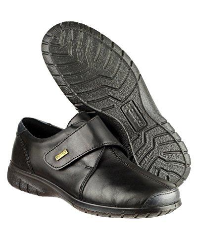 Cotswold Cuir Cranham Chaussures Femme Noir En RYYzOr