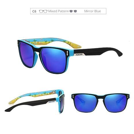 Yangjing-hl Gafas de Sol polarizadas para Hombres 5 Bisagra ...