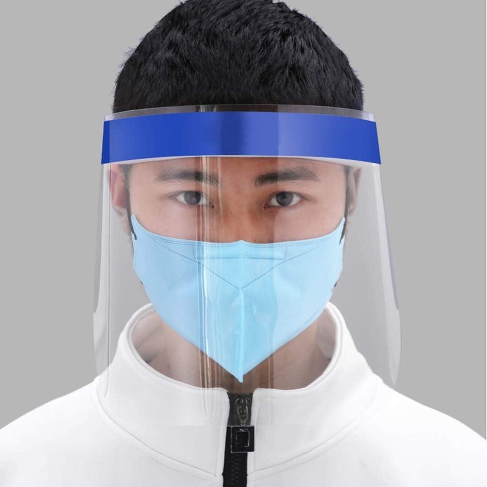 Exceart Visiera Cappello Trasparente Visiera Protettiva Occhiali Protettivi Testa Occhio Protezione Viso Protezione Anti Sputa Visiera Cappello per Cucina Forniture Esterne 2 Pz