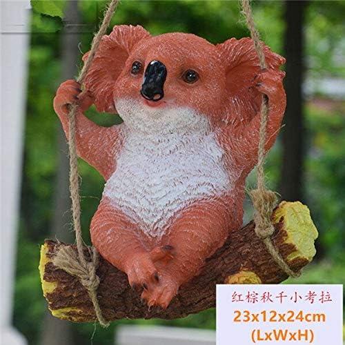 LVA Esculturas de jardín 1 Pieza de simulación de Osito de Koala con Figuras de Animales para decoración de jardín, 004: Amazon.es: Jardín