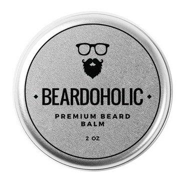 Beardoholic Premium qualité barbe Baume cire - meilleur Leave-In Conditioner & assouplissant pour - tout naturels et biologiques - renforce, s'épaissit et Styles de votre barbe