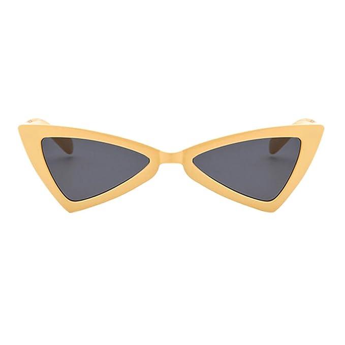 Damen sonnenbrille Mode-cat-eye-sonnenbrille Fashion sonnenbrille Dreieck-frame Sonnenbrille-F 9427JrT