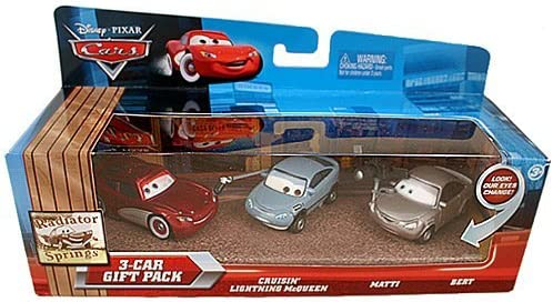 Cars 3-Car Gift Pack (Lightning Mcqueen, Matti, Bert): Amazon.es: Juguetes y juegos