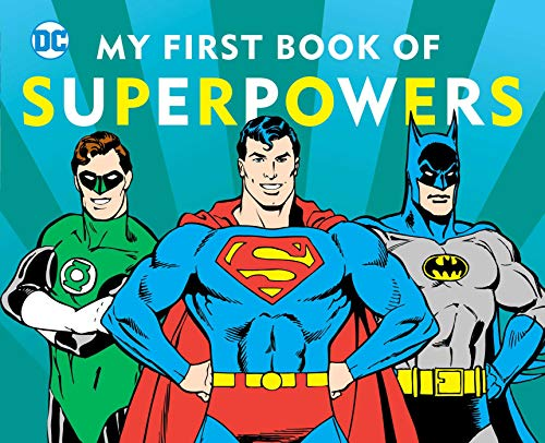 My First Book of Superpowers (DC Super -