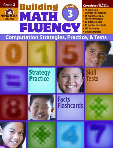 Building Math Fluency, Grade 3 by Evan Moor (2008-01-08) (Building Math Fluency Grade 3 compare prices)