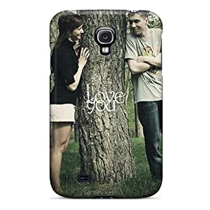 Cute Appearance Cover/tpu NbBQSTH6815rkKzY I Love You Case For Galaxy S4