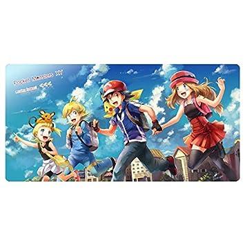 Pokémon Ash Ketchum Serena Run compañero de juego animado ...