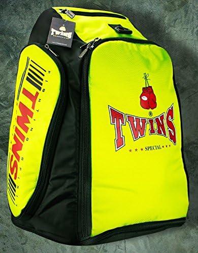 Twins Bolsa de Equipo de Boxeo Tailandés Pack verde claro Color: Amazon.es: Deportes y aire libre