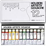 Holbein Artists Gouache Set of 12, 5ml tubes