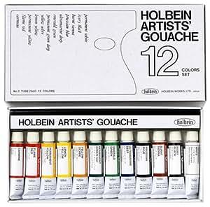 Holbein Artists Gouache Set of 12, 5ml tubes