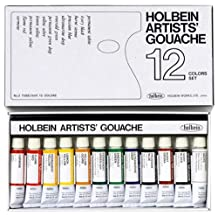 Holbein Artists G701 Gouache Watercolors, 12