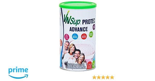 Protec Advance fresa. Batido a base de proteínas lácteas con vitaminas, minerales, probioticos, glutamina y aceite MCT. VNSup: Amazon.es: Salud y cuidado ...