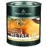 Benjamin Moore Qt10 Gold Metallic Latex Glaze by Benjamin Moore
