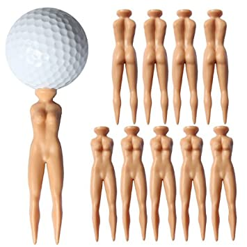 Nude golf tees