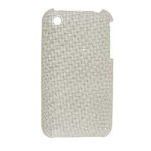A cuadros de imitación de cuero recubierto de plástico de la cubierta para el iPhone 3G