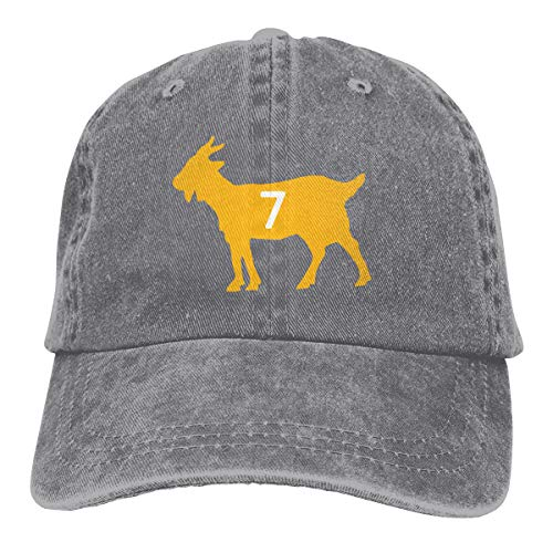 Moore Me Adjustable Baseball Cap Black Pittsburgh Roethlisberger Goat Cool Snapback Hats (Ben Blanket Roethlisberger)