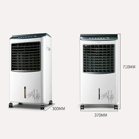 MU Hogar Salón Dormitorio Ventilador-Ventilador Súper Viento Silencio Calentamiento y enfriamiento Industrial 4-en-1 Control Remoto Aire Acondicionado Calentador, humidificador y purificador de Aire,: Amazon.es: Deportes y aire libre
