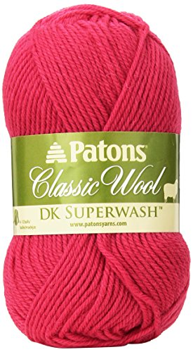 Spinrite Wool Classic - Spinrite Classic Wool DK Yarn, Deep Blush