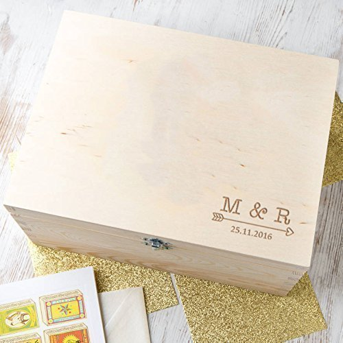 amazon com personalized keepsake boxes memory box for couples