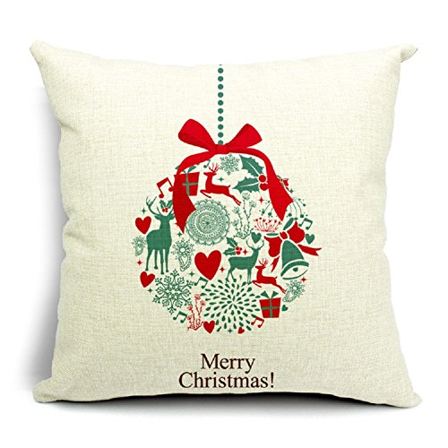 Christmas Decorative Cotton Jingle Cushion