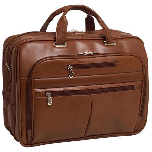 Mckleinusa Rockford 86515 Brown Leather 17  Laptop Case