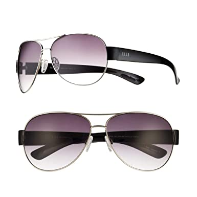 Amazon.com: ELLE Aviator - Gafas de sol para mujer, color ...
