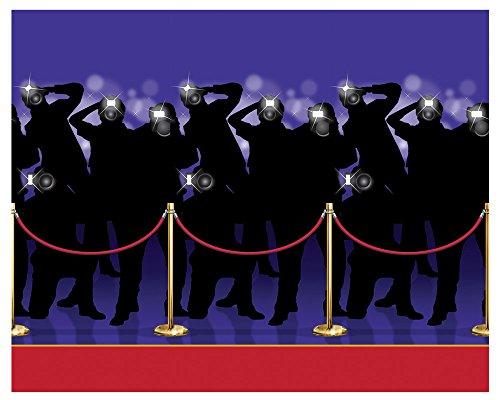 Beistle Paparazzi Backdrop Award Night Theme Party Halloween Wall -