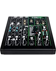 Mackie ProFXv3 Series, 6-Channel Professional Effects Mixer con USB, Onyx Mic Preamps and GigFX effects engine - Unpowered (ProFX6v3)