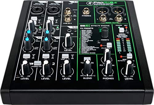 Mackie ProFXv3 Series, 6-Channel Professional