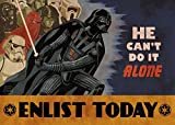 Vader Enlist Today Playmat 24 x 14 inch