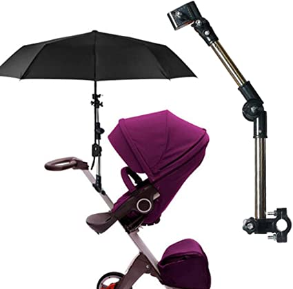 Manyo Support Parapluie Poussette, Support Parapluie Golf Anti-UV