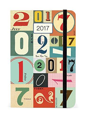 Cavallini 2017 Vintage Numbers Weekly Planner