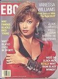 Ebony Magazine December 1988 Vanessa Williams on Cover