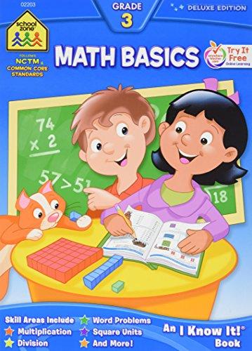 Workbooks-Math Basics Grade 3