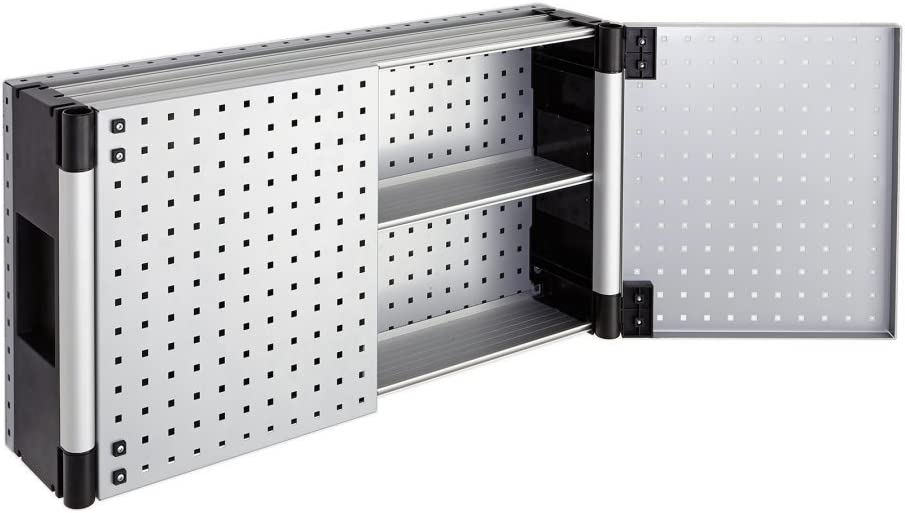 Wolfcraft 6086000 Armario de panel perforado