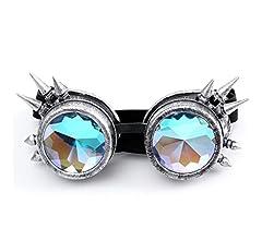 32104444b1 Btruely Herren_Gafas de Sol Kaleidoscope Gafas Mujeres y Hombres Gafas de  caleidoscopio Rave Festival Party Lentes de Sol EDM Diffracted Lens Gafas  Retro ...