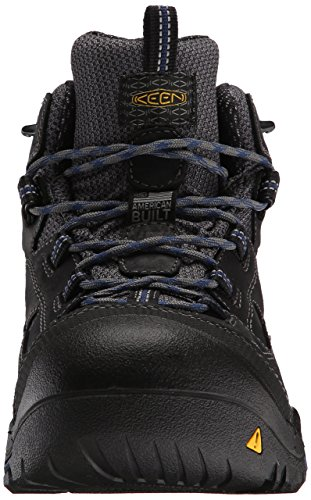 Utility Soft Keen Mid Toe Estate Waterproof Blue Men's Raven Braddock XwOWOrdq
