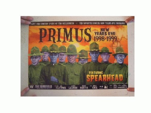 Primus Concert Poster The Warfield New Year