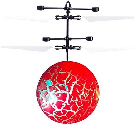 SAJDH Juguete De Bola Voladora De Inducción, Luz LED Intermitente ...