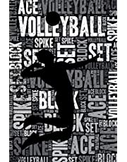 Volleyball Journal: Cool Blank Lined Volleyball Lovers Notebook For Player and Coach