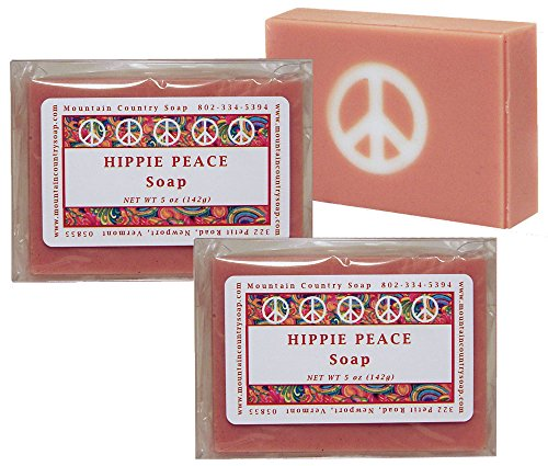 - Hippie Peace (Nag Champa) Soap - 2 Pack