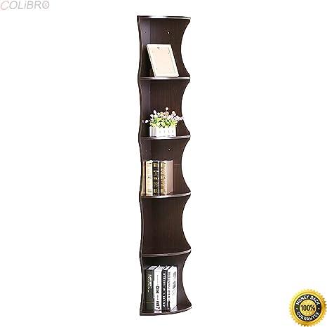 Cool Amazon Com Colibrox Corner Wall Shelves 5 Tier Rack Interior Design Ideas Tzicisoteloinfo