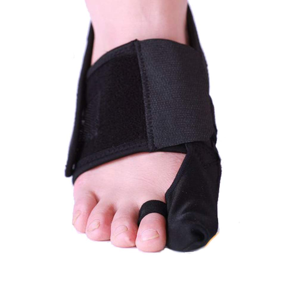 QETU Bunion Splint Brace Support,Night and Day Time Big Toe Straightener Hallux Valgus Pain Relief for 2Pack