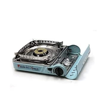 CY&Y Estufa de Camping, Horno de Cassette de Potencia de Fuego portátil al Aire Libre