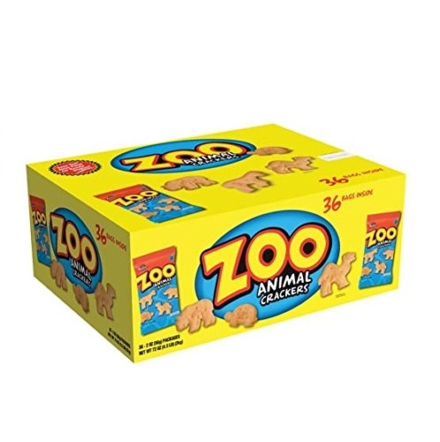 Austin Zoo Animal Crackers 36ct by Austin