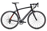 Kestrel RT-1000 Shimano 105 Bicycle, Satin Carbon/Red, 47cm/X-Small Advanced Sports International - Bike