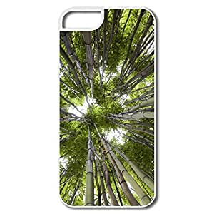 IPhone 5 5S Cases, Bamboo Forest White Covers For IPhone 5 5S by icecream design